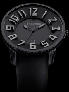 Tendence Gulliver Slim All Black Watch - Cool Watches from Watchismo.com