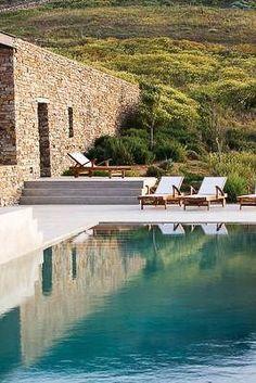 Clean Mediterranean style.