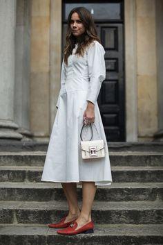London Fashion Week SS17 Street Style: Day 4