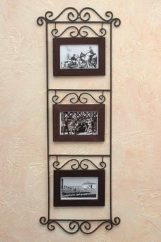 Balkon – home accessories Wrought Iron Wall Decor, Metal Wall Decor, Iron Furniture, Home Decor Furniture, House Plants Decor, Tuscan Decorating, Iron Art, Iron Doors, Metal Crafts