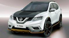 Nissan показал спецверсии кроссоверов X-Trail и Qashqai #мойвнедорожник #внедорожники #кроссоверы #джипы #автоновости #nissan