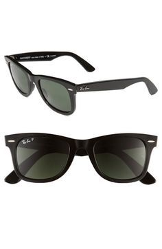 Ray-Ban Classic Wayfarer 50mm Polarized Sunglasses available at http://findanswerhere.com/glasses