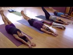 Urdhva Prasarita Ekapadasana with Lois Steinberg, Ph.D. Certified Iyengar Yoga Teacher Advanced 2 - YouTube