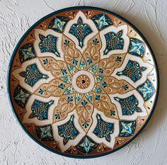 Fotografie na stene Julja – Dot Painting Tools, Texture Painting On Canvas, Dot Art Painting, Mandala Painting, Mandala Drawing, Ceramic Painting, Pottery Painting Designs, Islamic Art Pattern, Mandala Art Lesson