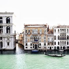 Beautiful Venice, Italy. No better place to get around by other than by a gondola ride, boat ode, or a Vespa scooter!