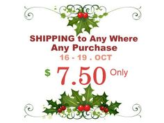 Weekend Flat Rate Combined Shipping Fee to ANY where by yooounique