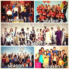 Glee:Another of my favorite dramatic tv show