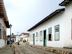 Casa de Cora Coralina na cidade de Goiás Velho (século XVIII). Foto - Danilo Matoso