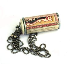 Eco Friendly Wine Cork Jewelry  Pink Necklace  by uncorked on Etsy, $19.00