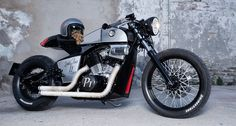 Rocket Supreme motorcycles. (via Rocket Supreme motorcycles: We have lift-off, with a twist   Classic Driver Magazine)