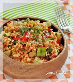 Lezzetli yaz salatası: Bulgar biber ile üç yemek tarifleri