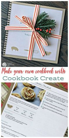 Family Recipes Cookbook | Make your own cookbook with your own recipes using Cookbook Create! See how on TodaysCreativeLife.com