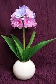"Képtalálat a következőre: ""hoa voan"" Nylon Flowers, Paper Flowers, Crochet Baby, Floral Arrangements, Beads, Plants, Garden, Design, Alice"