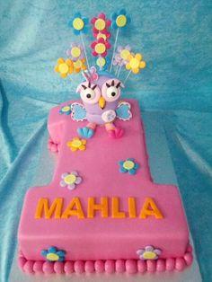 Hootabelle Cake 1st Birthday Parties, Girl Birthday, Birthday Cakes, Birthday Ideas, Owl Cakes, Cupcake Cakes, Purple Cakes, Baby Girl Cakes, Different Cakes