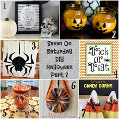 Seven DIY Halloween Crafts #Halloween #Halloweencrafts