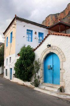 Village of Leonido Arcadia Greece Arcadia Greece, Beautiful Islands, Beautiful Places, Greek Blue, Greek Girl, Corinth Canal, Greece Travel, Crete, Greek Islands