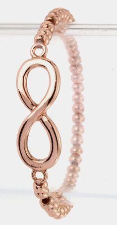 Infinity Symbol Stretch Bracelet $10