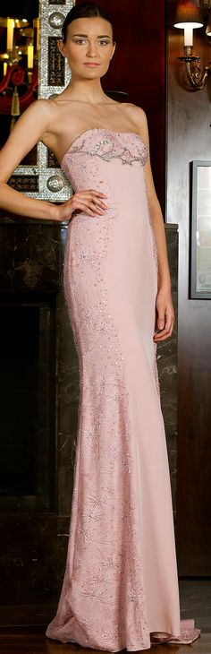Billionaire Club / karen cox. The Glamorous Life.  Toufic Hatab Couture Spring 2014