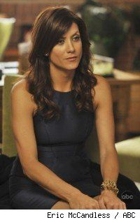 Addison Montgomery on Private Practice. I don't know how the world class doctor Kate Walsh portrays can always manage to look so good when not in scrubs. Slim fitting dresses and GOOD heels are pretty frequent in her wardrobe. Approved!