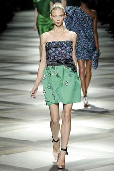 Lanvin Spring 2009 Ready-to-Wear Fashion Show Collection