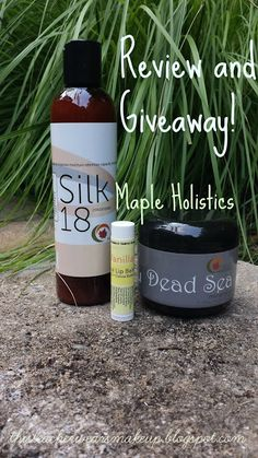 Review and Giveaway: Maple Holistics