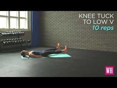 Alt karın kaslarını düzleştirecek 6 hareket - YouTube