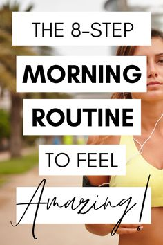Looking to start a new morning routine before work? This productive morning routine will set you up for a happy and successful week - wake up feeling fresh and take charge of the day! It's the perfect morning routine for busy people! #morningroutine #productivity #healthy #happiness #success