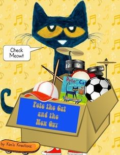 Color by Number with Pete the Cat | pete the cat | Pinterest