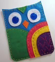 felt owls - Google Search
