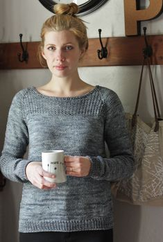 In Stillness Pullover By Alicia Plummer - Purchased Knitted Pattern - (ravelry)