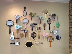 hair salon design retro - Google Search