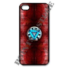 Ironman Arc Reactor Apple iPhone 5 Black case, white case available