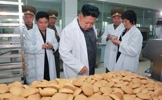 North Korea's leader Kim Jong-un paid a visit to the November 2 Factory of the Korean People's Army. During his visit he toured bread and confectionery workshops and a newly built room dedicated to the history of the factory. He said that the room was well arranged, adding the factory has a long history.