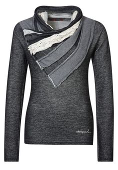 Desigual - DULCE - Sweater - Black