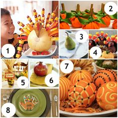 thanksgiving table ideas   Adorable, Edible Thanksgiving Table Decorations   Mrs. Fields Secrets