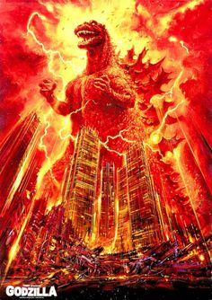 Phenomenal Collection Of Retro Godzilla Posters