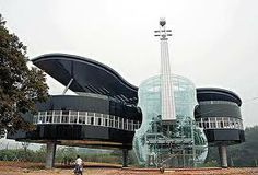 glass building designs - so cool, love this design using glass for intrumental
