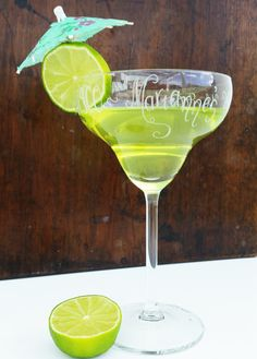 Find This Pin And More On Cove Calligraphy Personalised Gifts. Personalised  Margarita Cocktail Glass ...