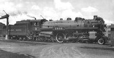 Richard Leonard's Random Steam Photo Collection -- Canadian Pacific 4-6-4 2806
