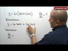 Derivada del logaritmo de un producto: Julio Rios explica cómo derivar una función que contiene el logaritmo de un producto.