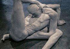 Emil Alzamora, Masochist, Gypsum, Life-Size, 2004
