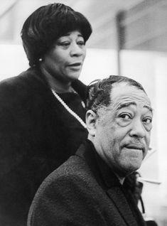 Ella Fitzgerald and Duke Ellington                                                                                                                                                      More