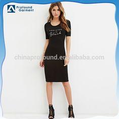 Source fashion jersey dress t shirt dress women custom tshirt dress printing on m.alibaba.com