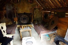 Inside a viking house | Flickr - Photo Sharing!
