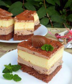 "Domowa Cukierenka : sernik ""Pawełek"" Polish Recipes, Polish Food, Tiramisu, Cheesecake, Healthy Recipes, Cooking, Sweet, Ethnic Recipes, Ghibli"