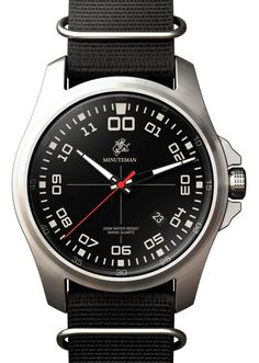 Minuteman Watches: Military Style