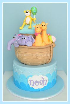 Noah's 1st Borthday Cake