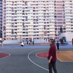 Discover and Be Inspired by My Style: Photoshooting at Choi Hung Estate Kennedy Town, Colourful Buildings, Days Like This, My First Year, Shorts With Tights, How To Get Warm, Wood Bridge, Outfit Combinations, Hard To Find