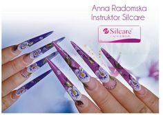Radiant orchid nails   http://stylizacjapaznokci-annaradomska.blogspot.com/