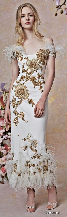 Marchesa Resort 2019 Floral Fashion e22c52bec86a